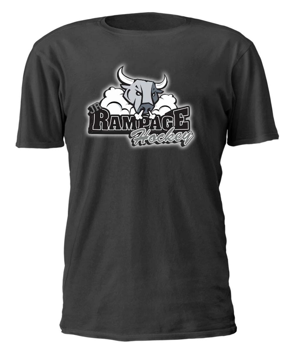 Jr rampage hockey custom designed hockey team shirts for San diego custom t shirts