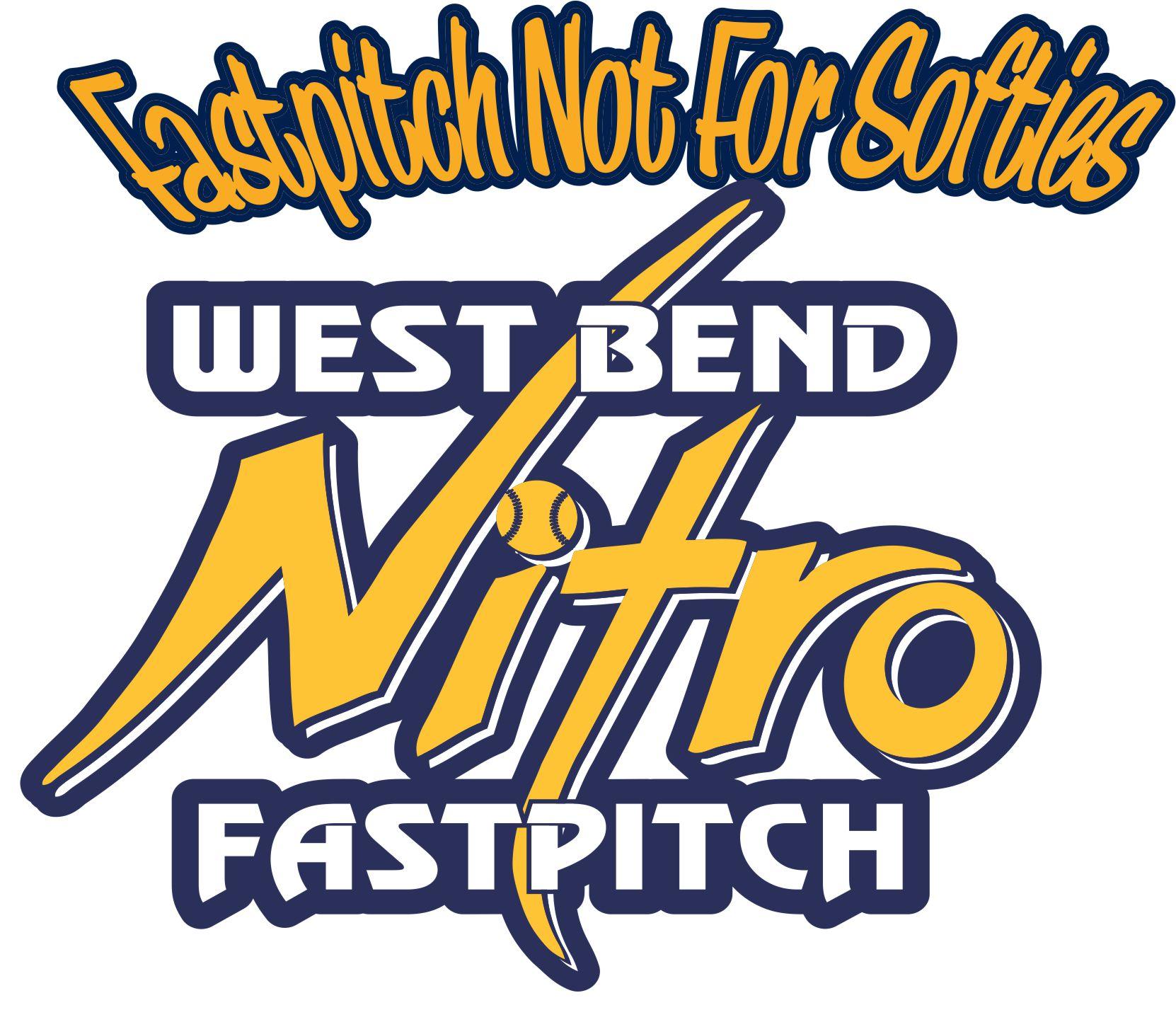 West Bend Nitro Fastpitch Custom Baseball Car Window ...