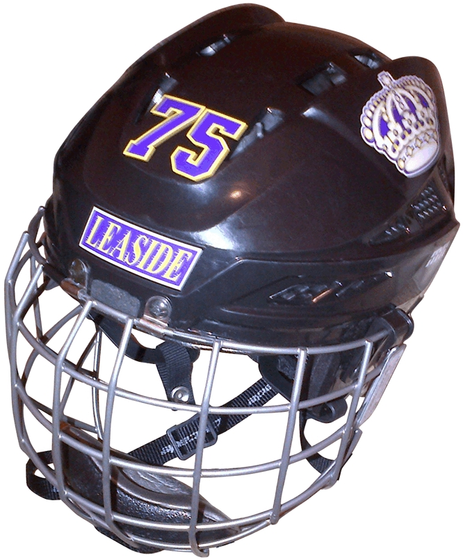 Hockey Helmet Decal