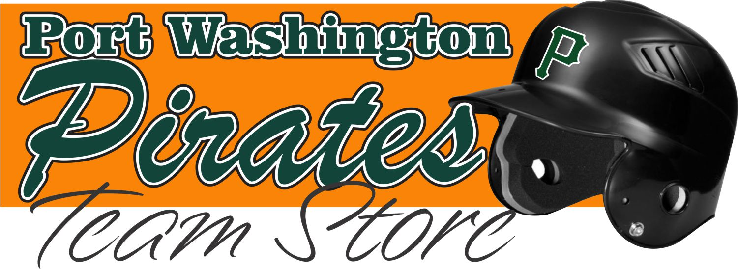 Port Washington Pirates Baseball Team Store Banner