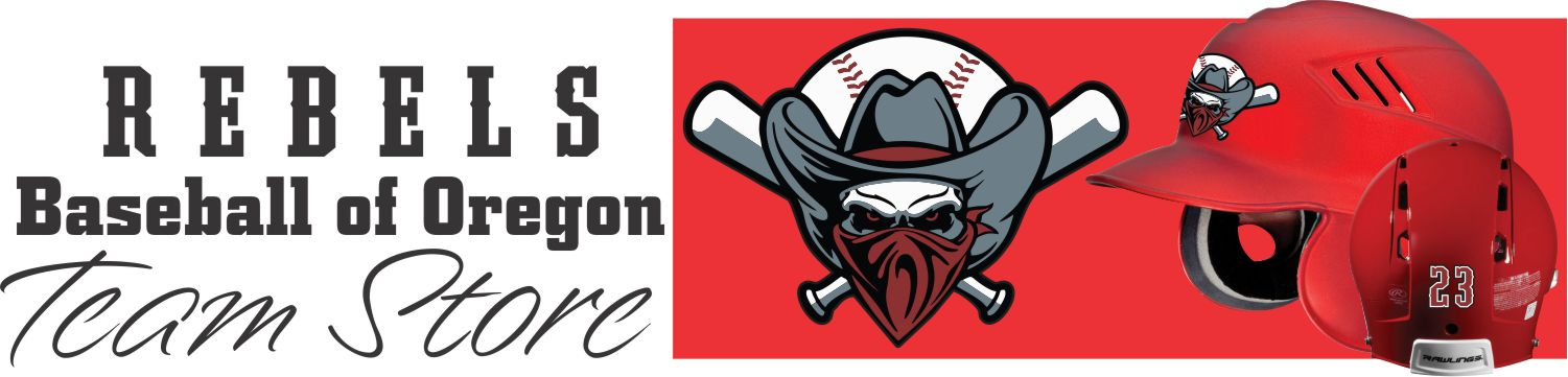Rebels Baseball of Oregon Team Store Banner