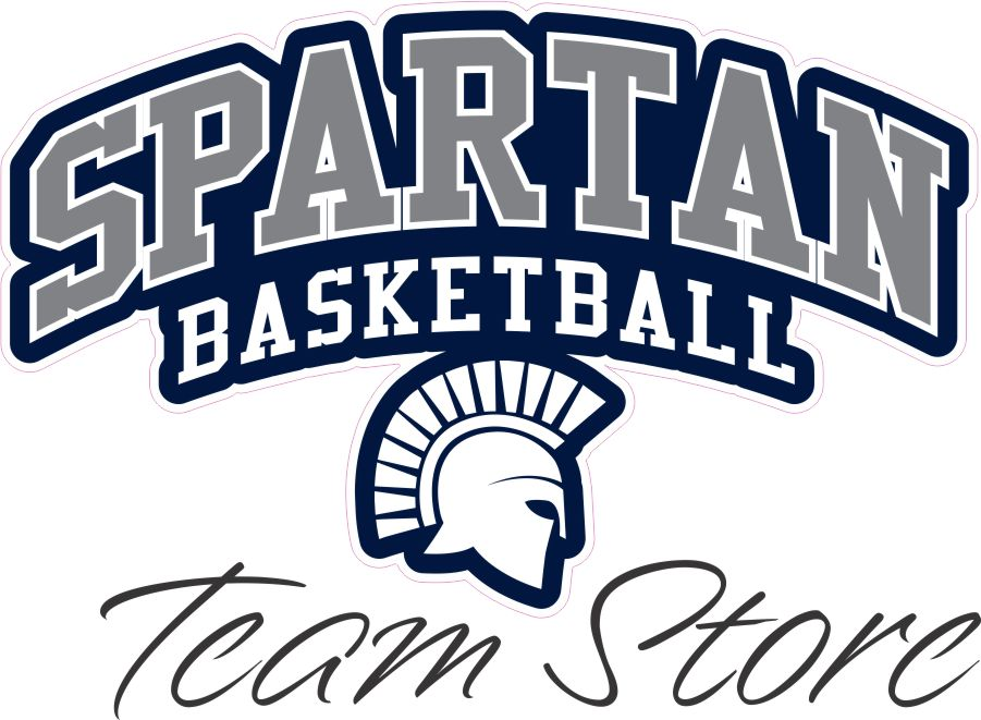 Spartan Basketball Team Store Banner