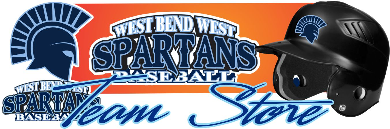West Bend West Spartans Youth Baseball Team Banner