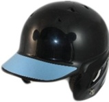 Baseball helmet visor decals