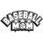 Baseball mom decal | sticker for your car window