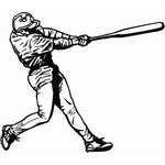 Baseball & Softball Car Window Decals | Stickers