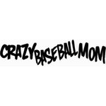 Baseball mom car window decal | sticker