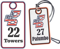 Bat Company Baseball Club Custom Baseball Bag Tags
