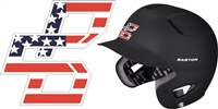Bat Company Custom Baseball Helmet Decals