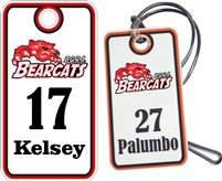 BGRA Bearcats Baseball Club Custom Baseball Bag Tags