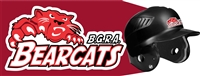 BGRA Bearcats Custom Baseball Helmet Decals