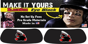 Murfreesboro Blacksox Youth Baseball and Softball Custom Player Eye Black