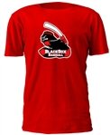Murfreesboro Blacksox Youth Baseball and Softball Custom Cotton Roundneck Red T-Shirt