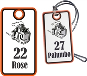 Camelot Knights Youth Custom Baseball Bag Tags