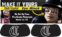 Connetquot Chiefs Youth Baseball Eye Black