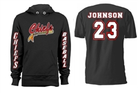 Connetquot Chiefs  Baseball Custom Hoodie