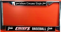 Connetquot Youth Baseball Custom License Plate Frame