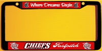 Connetquot Fastpitch Softball  Custom License Plate Frame