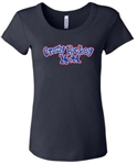 Custom Hockey Grandma V Neck Tee