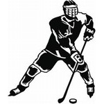 Hockey Decals for car Windows