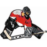 Hockey Decals for Car Window | Goalie