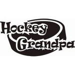 Hockey Grandpa Decal