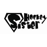 Hockey Sister Decal