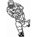 Hockey Decal HP16
