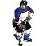 HP18 Hockey Decal