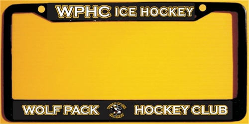 Hwhc Personalized License Plate Frames Tagsports