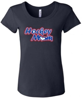 Glitter Hockey Mom Tee