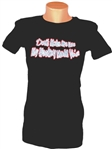 ​Glitter Hockey Mom Tee Don't Make Me Use My Hockey Mom Voice