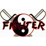 Karate Fighter Custom Yin Yang Decal