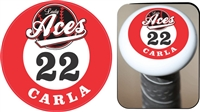DHS Dukes Baseball Custom Bat Knob