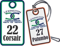 Central Kentucky Youth Hockey Bag Tags