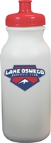 Lake Oswego Baseball Club Custom Water Bottle with team logo