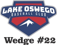 Lake Oswego Baseball Club Custom Baseball Decals | Stickers for your Car Window