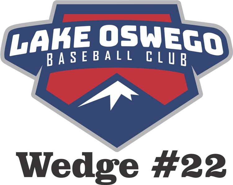 Lake Oswego Baseball Club Custom Baseball Car Window Decals - Custom car window sticker