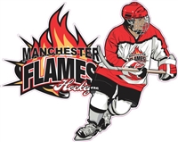 Manchester Flames 17 Car Window Decal clings | Stickers