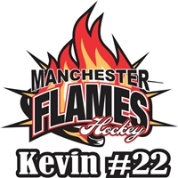 Manchester Flames Car Window Decal clings | Stickers