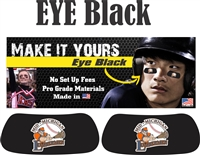 Mid Michigan Lumbermen Baseball Club and Softball Custom Player Eye Black
