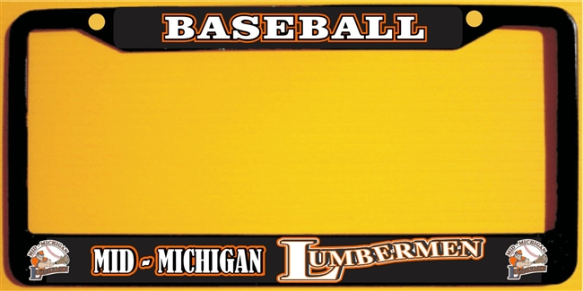 Mid Michigan Lumbermen Baseball Club Custom License Plate