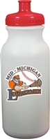 Mid Michigan Lumbermen Custom 20 oz Water Bottle with team logo and your name
