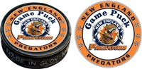 New England Hockey Souvenir Printed Game Puck Decals & Awards