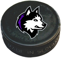 New England Jr Huskies Custom Printed Hockey Puck