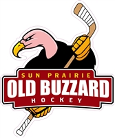 Old Buzzard Hockey Custom Car Decals