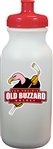 Old Buzzard Ice Ice Hockey Custom Water Bottle with team logo
