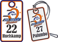 Orangecrest Pony Baseball All Stars | Custom Baseball Bag Tags