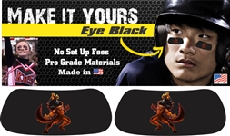 Pinellas Predator Custom Player Eye Black