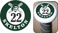 Port Washington Pirates Youth Baseball and Softball Custom Bat Knob